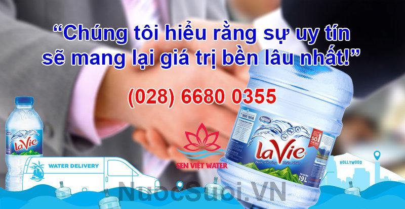 Đại lý nước khoáng Lavie Sen Việt