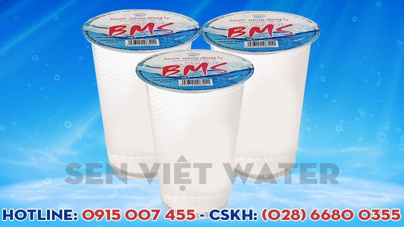 nước uống đóng ly bms 240ml giao tận nhà