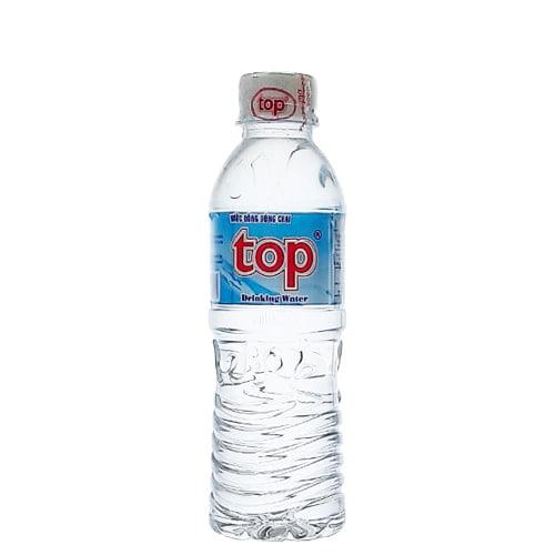 nước suối chai nhỏ nuoc dong chai top 330ml kg9c