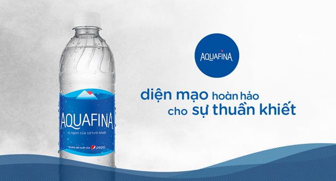 Aquafina - Hương vị nước tinh khiết