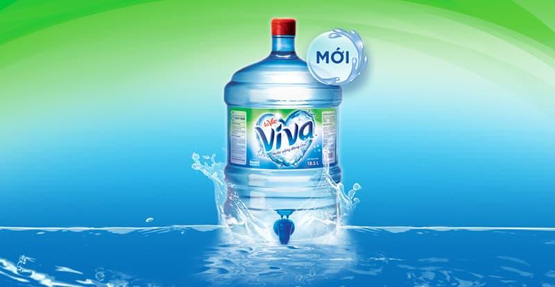 Nước uống LaVie Viva 19L bình có vòi