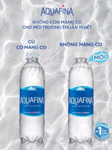 aquafina bo mang co nap chai