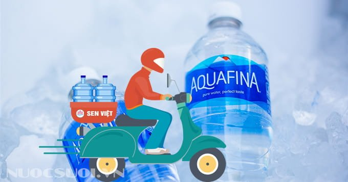 Miễn phí giao nước Aquafina tận nơi