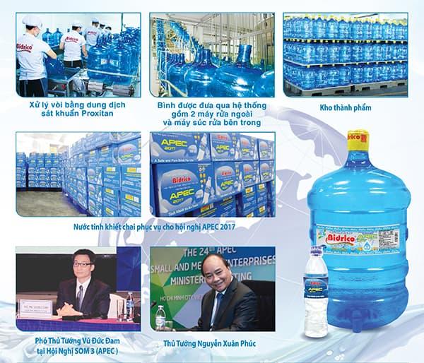 nước bidrico nuoc bidrico apec 2017