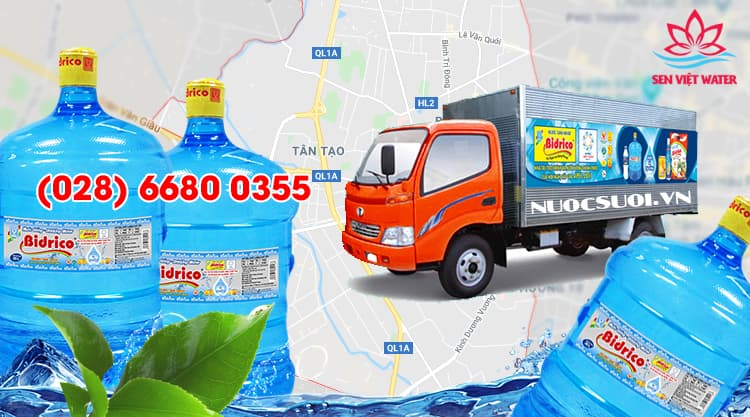 Nước Bidrico Quận Bình Tân