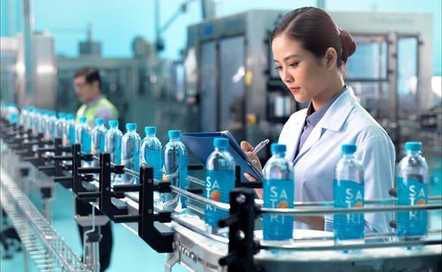 Dây chuyền sản xuất nước khoáng Satori