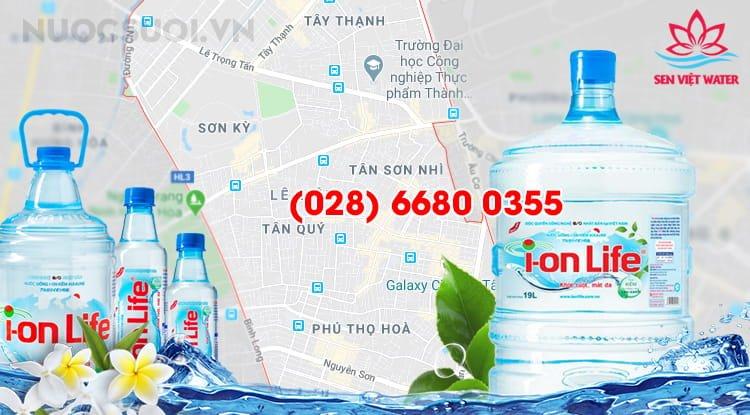 Nước ion Life Quận Tân Phú