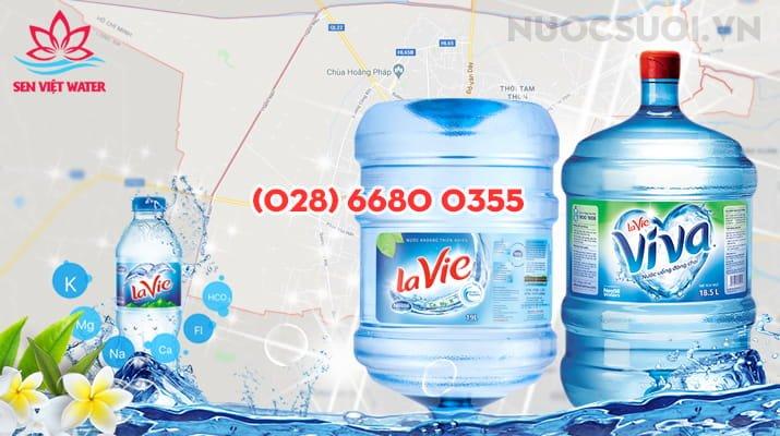 Nước khoáng Lavie tại Hóc Môn - TPHCM