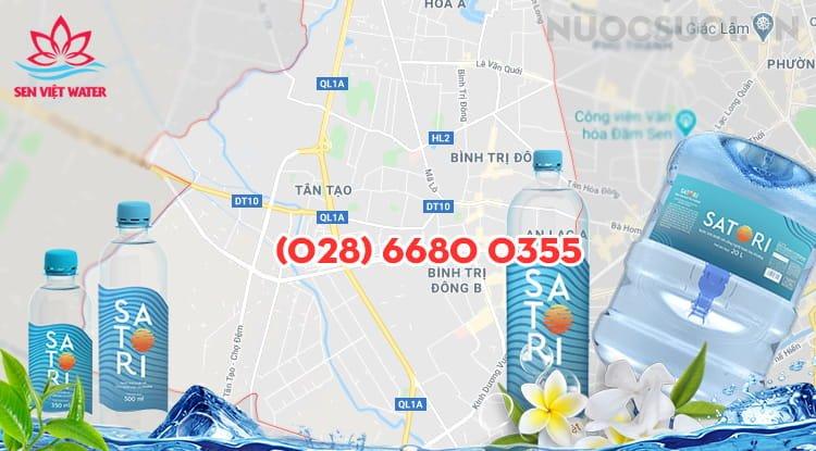 Nước Satori Quận Bình Tân